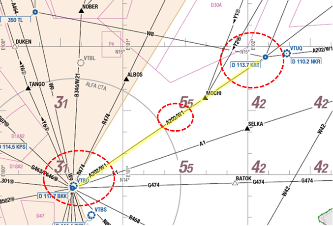 P1_11(Conventinal_flying_route)