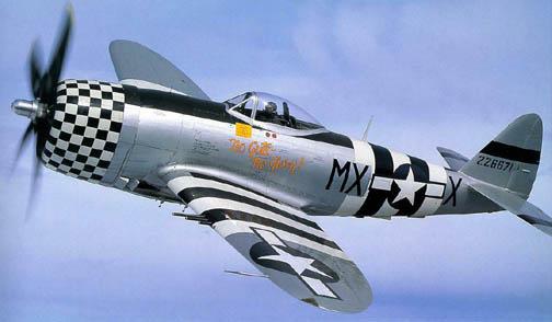"""""""เครื่องบิน P-47 ธันเดอร์โบลต์ เครื่องบินรบสมัยสงครามโลกครั้งที่ 2"""""""
